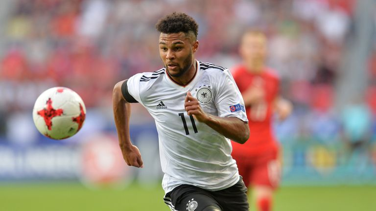 Serge Gnabry wants to move back to England