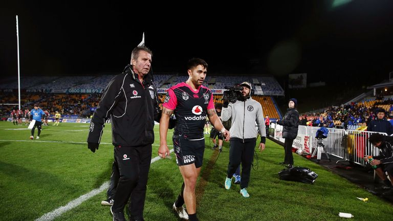 Shaun Johnson is expected to be fit for New Zealand's World Cup opener on October 28