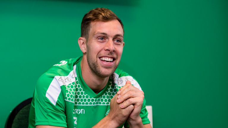 Steven Whittaker has made 12 appearances since returning to Hibernian in the summer