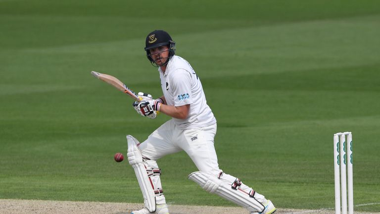 A Stiaan van Zyl century put Sussex in control on day three against Leicestershire