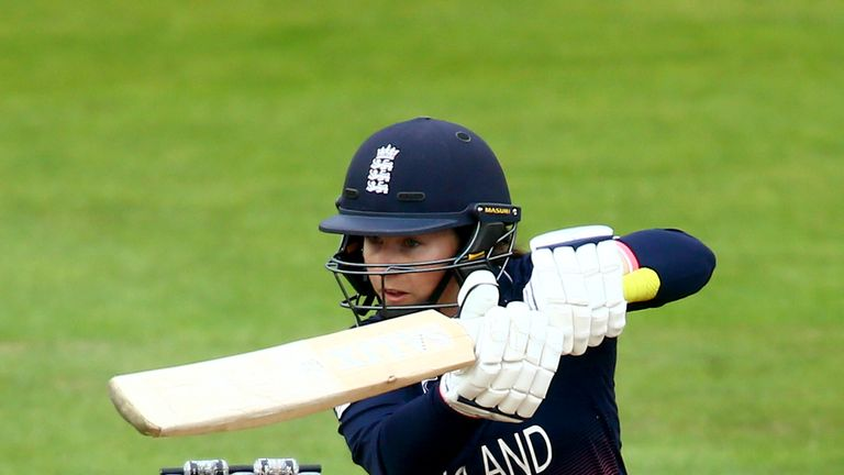 Tammy Beaumont helped England to World Cup glory