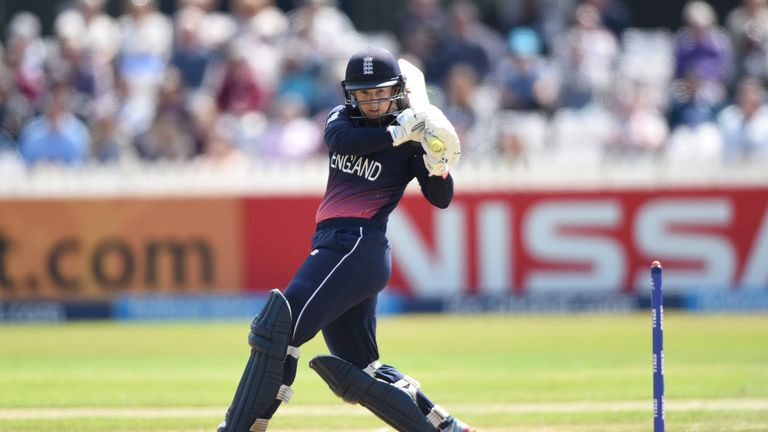 England World Cup-winning cricketer Tammy Beaumont is one of six contenders for the Sunday Times Sportswoman of the Year Award