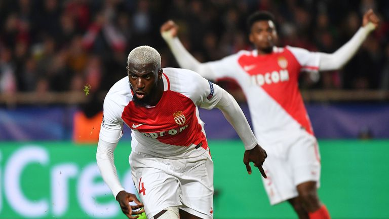 Monaco midfielder Tiemoue Bakayoko is set to join Chelsea