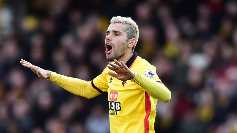 Valon Behrami is on the verge of leaving Watford for Udinese
