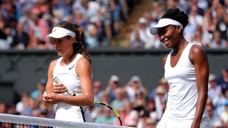 Johanna Konta was beaten in the Wimbledon semi-final last year