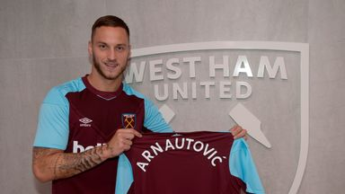 Marko Arnautovic is now a West Ham player