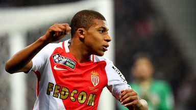 Kylian Mbappe is a target for some of Europe's biggest clubs
