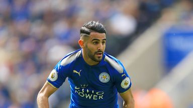Leicester have rejected a bid from Roma for Riyad Mahrez