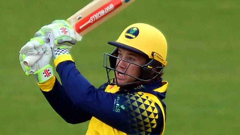 Colin Ingram's century paved the way for Glamorgan's last-ball victory