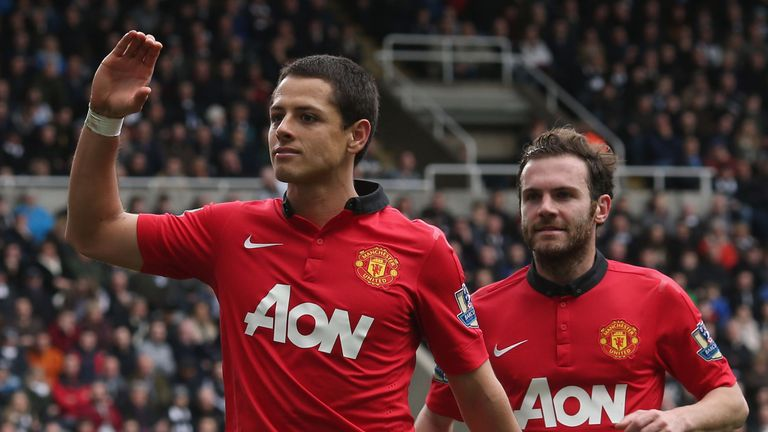 New West Ham signing Javier Hernandez is excited by the prospect of facing his former club Manchester United