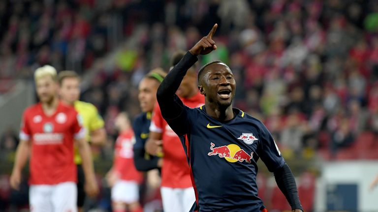RB Leipzig's Naby Keita is a £70m transfer target for Liverpool