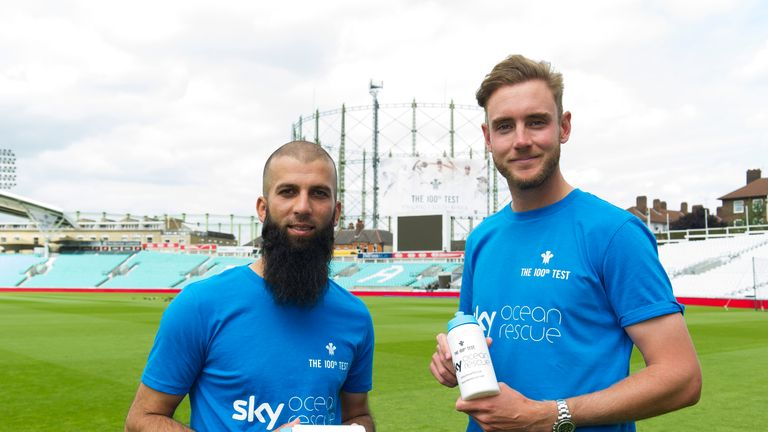 Sky Ocean Rescue teams up with The Kia Oval for third Test