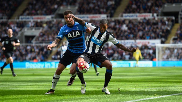 Newcastle ran riot against Tottenham two years ago
