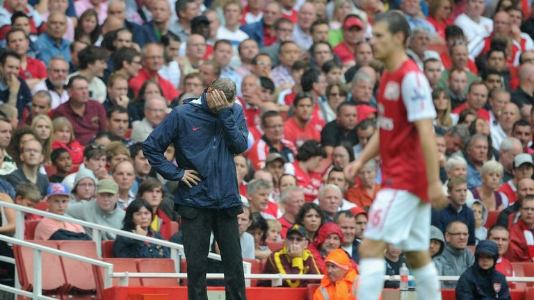 Wenger can't look as Arsenal are dismantled by Liverpool in 2011