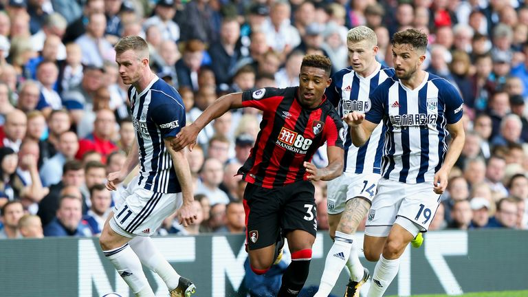 Bournemouth struggled to break West Brom down