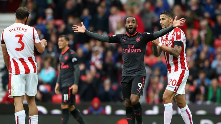 Arsenal suffered a 2-1 defeat at Stoke on the second weekend of the season