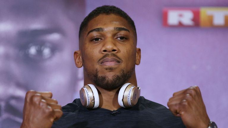 Anthony Joshua has shared his thoughts on five heavyweight rivals