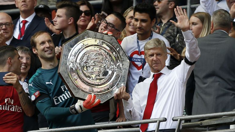 Arsenal won the Community Shield in August, a level of performance the Frenchman feels they will return to form