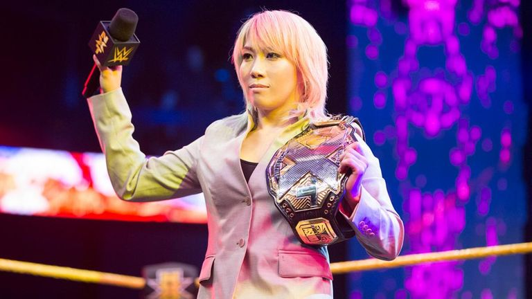 Asuka hasn't been beaten since joining WWE more than 500 days ago