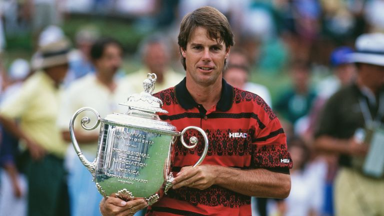 Paul Azinger secured his solitary major after a sudden-death playoff in 1993