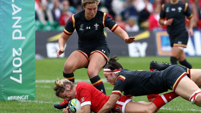 Canada beat Wales in a hard-fought match in Group A
