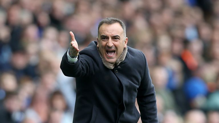 Carvalhal will serve an immediate two-match touchline ban