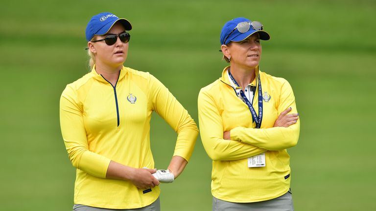 Annika Sorenstam has told the European team to respect the home crowd