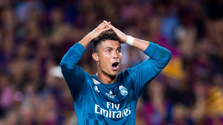 Red for Ronaldo after goal in Supercopa thriller