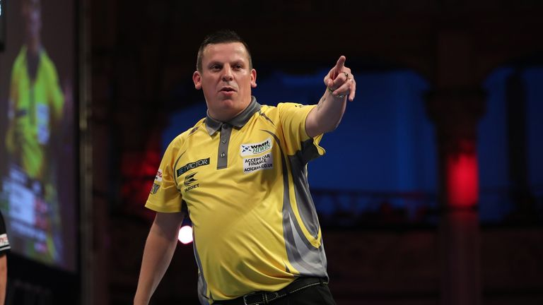Dave Chisnall was also victorious in Barnsley over the weekend to win his first title of the year