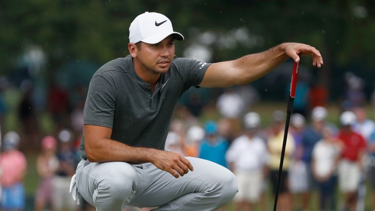 Jason Day is just two off the lead