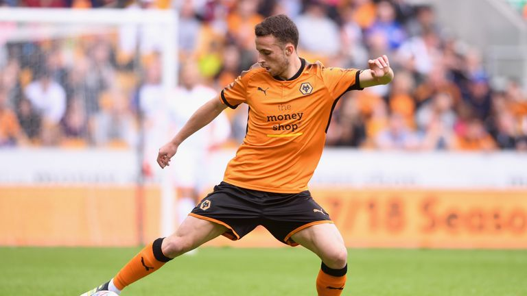 Diogo Jota is excited about the forthcoming season at Molineux