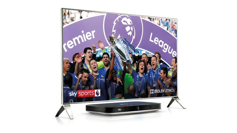 Experience the Premier League drama this season with Dolby Atmos on Sky Q