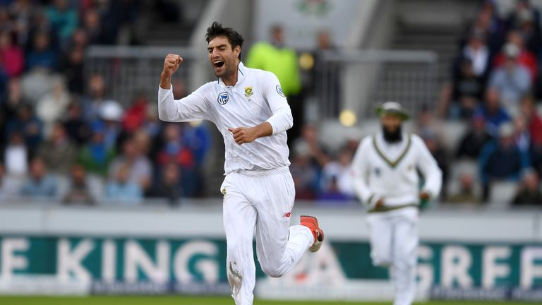 Olivier has taken 17 wickets in his five Tests to date