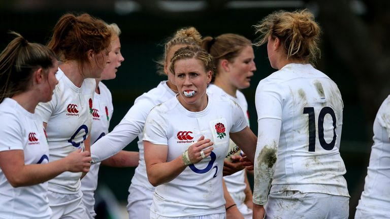 England take on New Zealand in this weekend's final