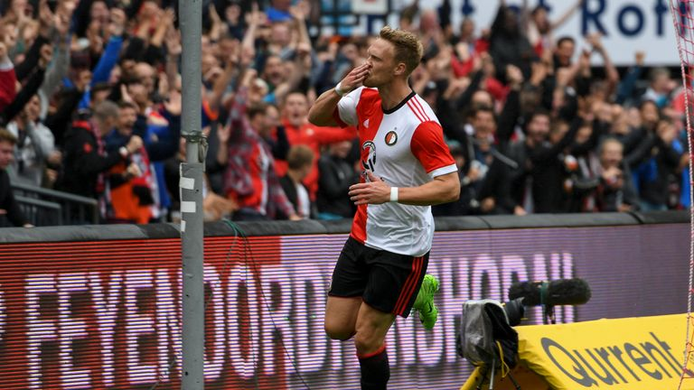 Newcastle have had a fresh £15m bid for Nicolai Jorgensen rejected by Feyenoord