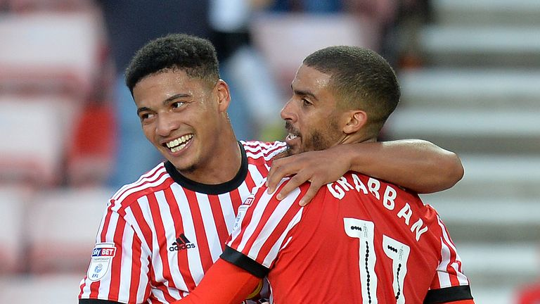Lewis Grabban inspired Sunderland to their first win of the campaign