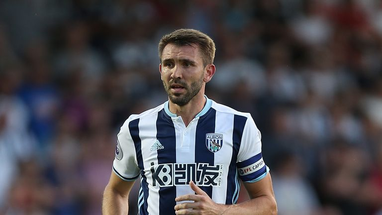 Gareth McAuley has played for West Bromwich Albion's under-23 team