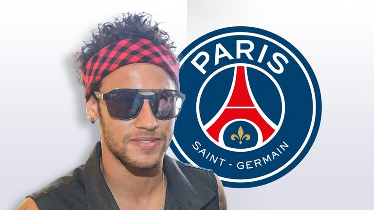 Neymar Arrives at PSG ... Fans Lose Their Minds!!