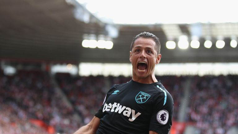 Javier Hernandez is already among the goals at West Ham