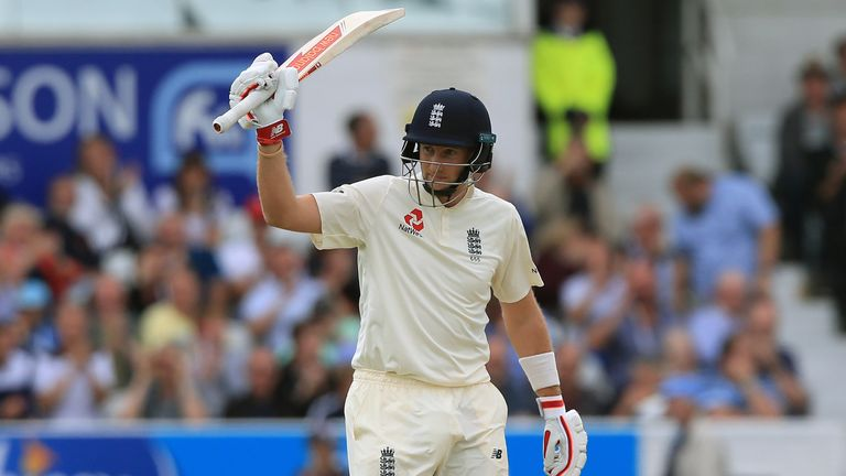Joe Root has matched AB de Villiers' record of fifties in 12 consecutive Tests