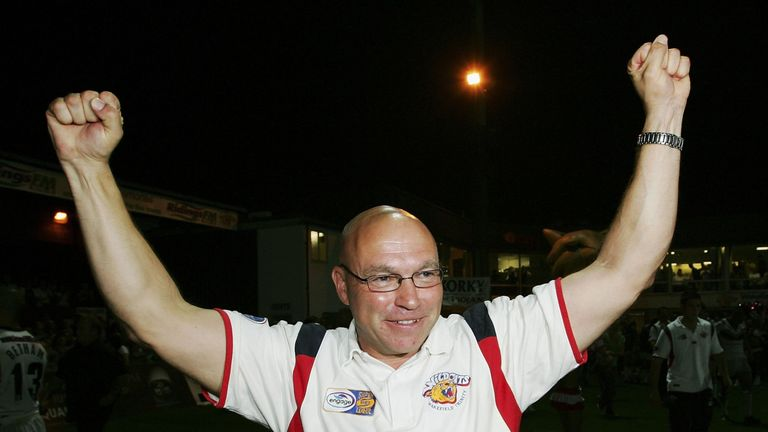 Kear rejoined Wakefield last year having previously been at the club between 2006 and 2011