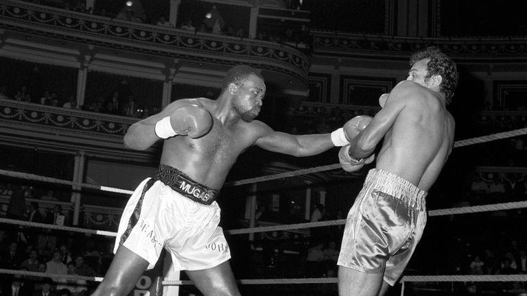 John Mugabi fought in the United Kingdomn seven times