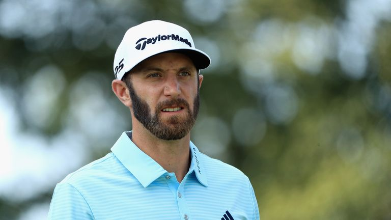Dustin Johnson will play alongside Spieth on Sunday