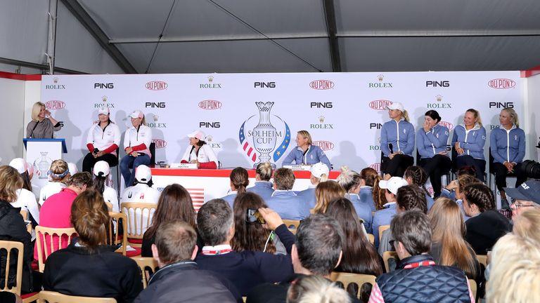 "Paula Creamer replaces injured Jessica Korda on Solheim Cup team"""