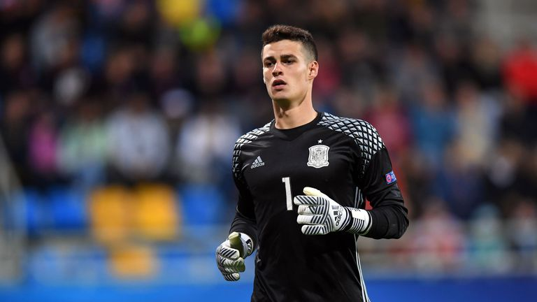 Kepa Arrizabalaga was linked with a move to Real Madrid
