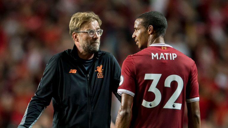 Matip admits he made a number of mistakes against Tottenham