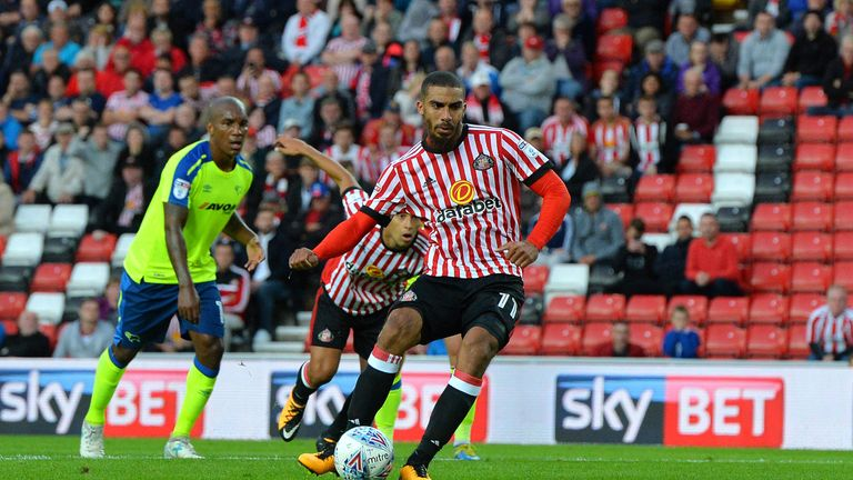 Lewis Grabban is on loan at Sunderland