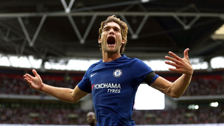 Marcos Alonso scored twice as the Blues won at the home of English football
