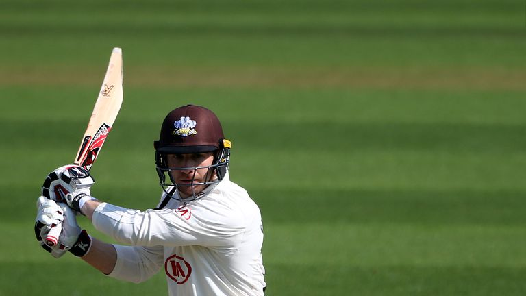 Mark Stoneman presses England claims with 67 for Surrey