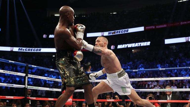McGregor boxed Floyd Mayweather in 2017 so hasn't fought in the UFC for over a year